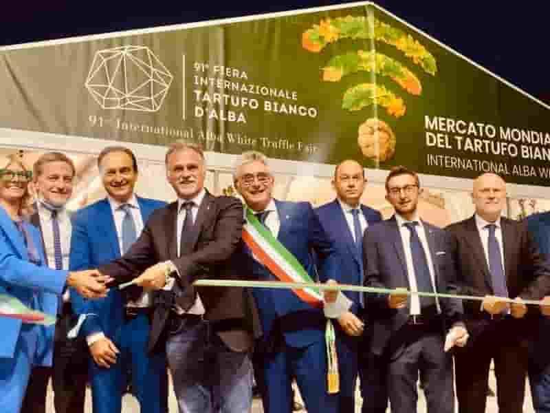 91esima fiera internazionale del tartufo bianco d alba Inaugurazione