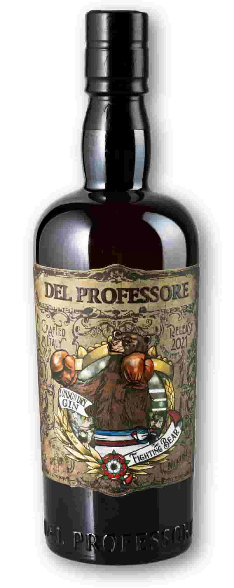Del Professore The Fighting Bear London Dry Gin 2 (1)