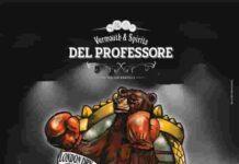 Del Professore The Fighting Bear London Dry Gin logo