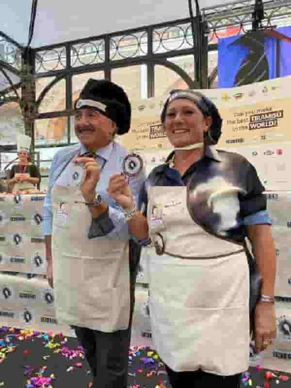 Stefano Serafini e Elena Bonali