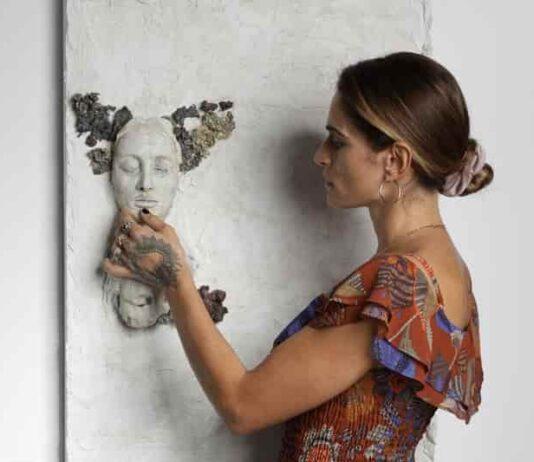 Valentina Lucarini Orejon e la sua opera Pina Nera