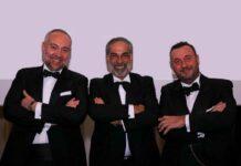 da sinistra Paolo Gorla, Antonello Martinez, Sergio Zorza